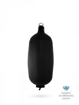 Black textile cylindrical fender C84 FENDERTEX®