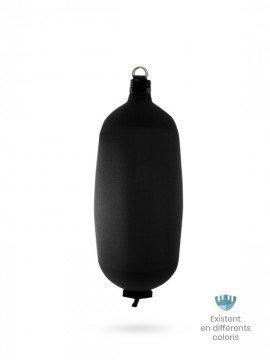 Black textile cylindrical fender C104 FENDERTEX®