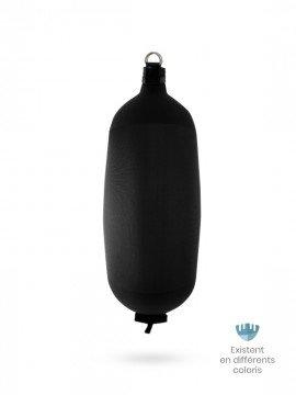 Black textile cylindrical fender C124 FENDERTEX®