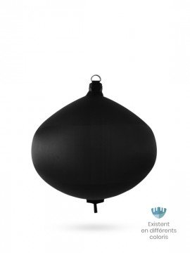 Black textile spherical fender S70 FENDERTEX®