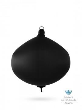 Black textile spherical fender S80 FENDERTEX®