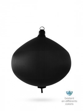 Black textile spherical fender S80 FENDERTEX®