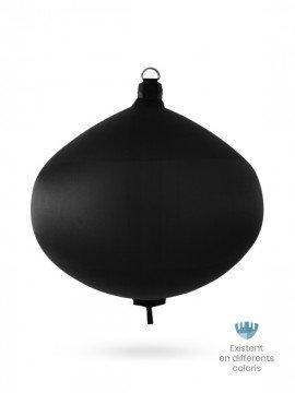 Black textile spherical fender S100 FENDERTEX®