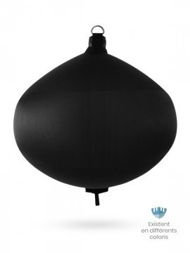 Black textile spherical fender S120 FENDERTEX®