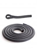 Anthracite grey braidline - Versatile rope