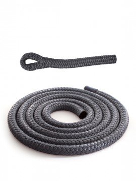Anthracite grey braidline - Versatile rope