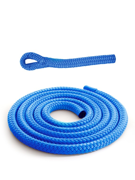 Royal blue braidline - Versatile rope