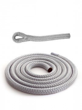 Grey braidline - Versatile rope