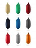 Pare-battages cylindriques C104 en textile de différents coloris FENDERTEX®