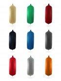 Pare-battages cylindriques C207 en textile de différents coloris FENDERTEX®
