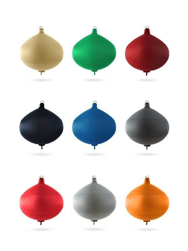 Spherical fenders S60 in textile of different colors FENDERTEX®