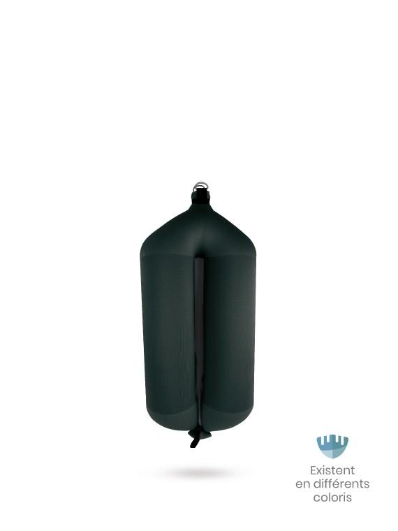 Black textile tubular fender T52 FENDERTEX®