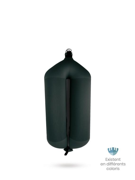 Black textile tubular fender T73 FENDERTEX®
