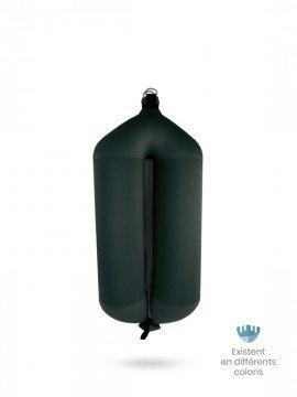 Pare-battage tubulaire T84 en textile noir FENDERTEX®