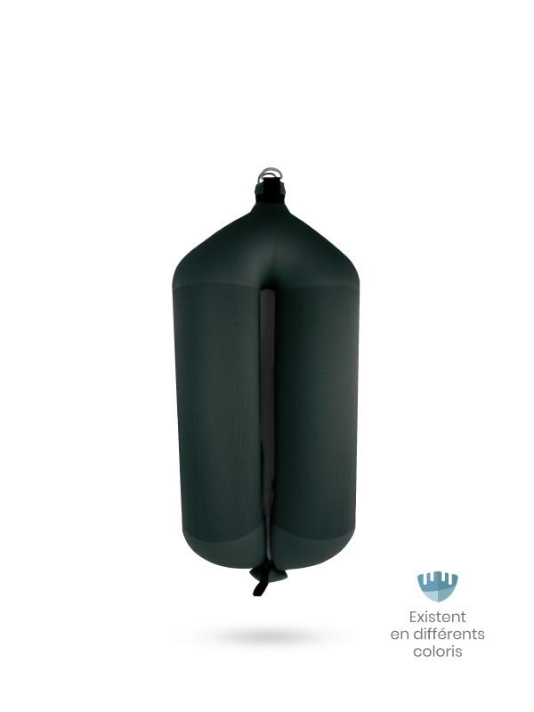 Black textile tubular fender T84 FENDERTEX®