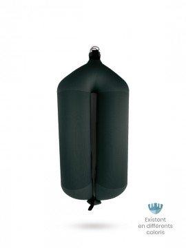 Pare-battage tubulaire T104 en textile noir FENDERTEX®