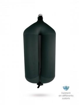 Pare-battage tubulaire T124 en textile noir FENDERTEX®