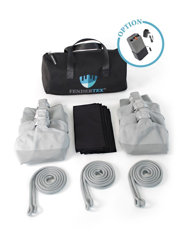 Pack accostage C73 - Pare-battage textile Fendertex