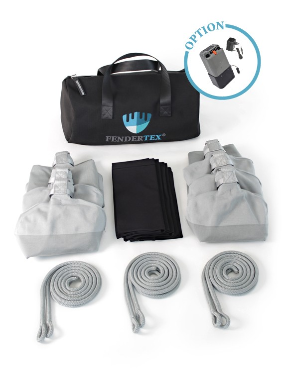 Pack accostage C84 - Pare-battage textile Fendertex