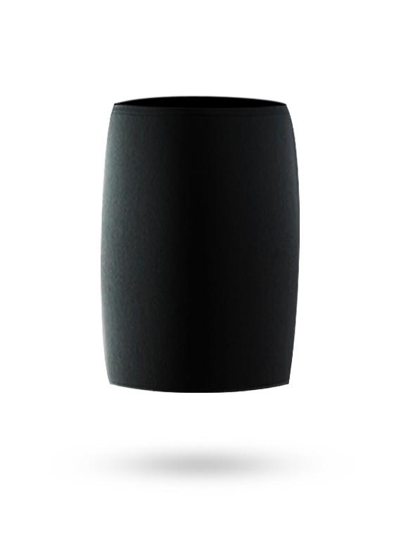 Chaussette universelle noire pour pare-battage.