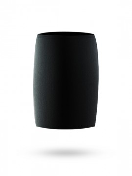 Universal cylindrical fender black cover