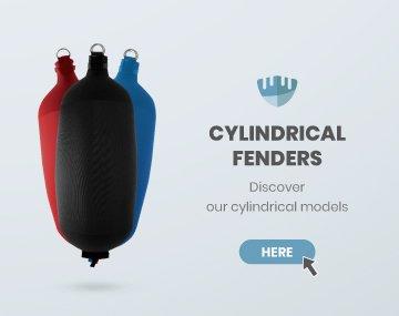 Cylindrical fenders Fendertex