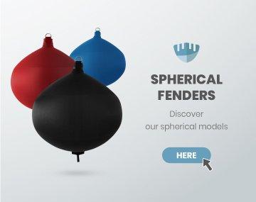 Spherical fenders Fendertex